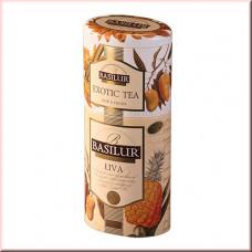 Чай Basilur 125г Цветы и фрукты  Ува + Экзотик  2 в 1 ж/б