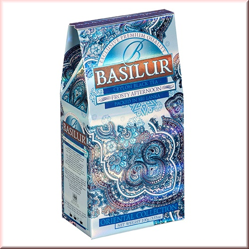 Чай Basilur картон 100г Вост. коллекция Морозный день