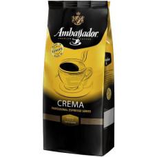 Кофе в зернах Ambassador Crema 1кг (Европа)