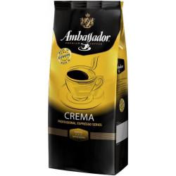 Кофе в зёрнах Ambassador Crema 1кг