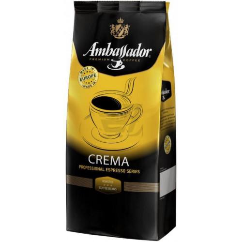 Ambassador 1000г Crema (Европа) в зернах