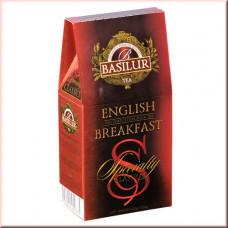 Чай Basilur картон 100г Избр. классика Англ. завтрак