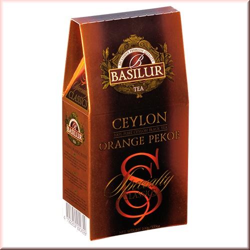 Чай Basilur картон 100г Избр. классика Цейлонский ОР