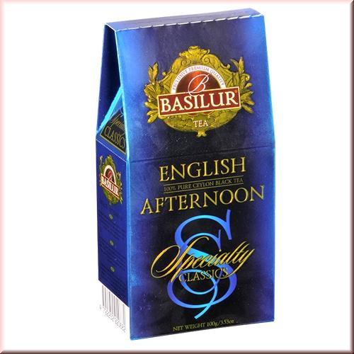 Чай Basilur картон 100г Избр. классика Англ. полдник