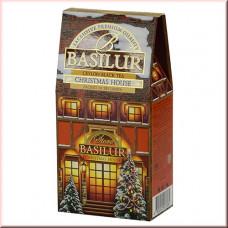 Чай Basilur картон 100г  Дом  Рождественский Дом