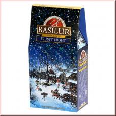 Чай Basilur картон 100г  Подарочная  Морозная ночь