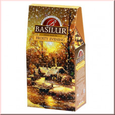 Чай Basilur картон 100г  Подарочная  Морозный вечер