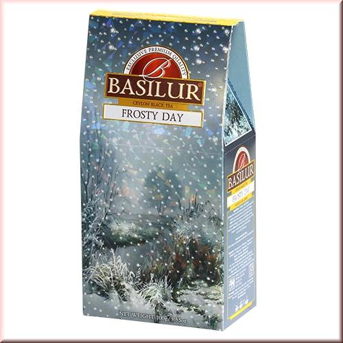 Чай Basilur картон 100г  Подарочная  Морозный день