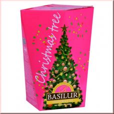 Чай Basilur картон 85г Рождественская елка Фиолетовая