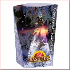 Чай Basilur картон 85г Зимняя фантазия  Зимний рассвет