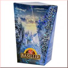 Чай Basilur картон 85г Зимняя фантазия Зимняя Лоза
