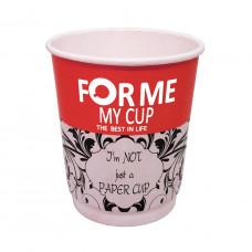 Стакан     Двухслойный  210мл   (My Cup)  Red