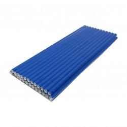 Бумажная трубочка (25 шт в упак) Синяя