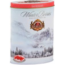 Чай Basilur 100г  Зимние Ягоды  Барбарис ж/банка