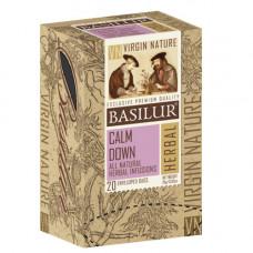 Чай Basilur картон пакет  Природная Коллекция Спокій 20пак