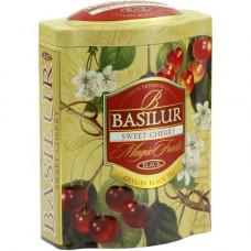 Чай Basilur 100г  В. фрукты Черешня ж/б