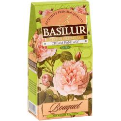 Чай Basilur картон 100г  Букет  Кремовая фантазия