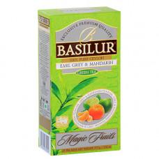 """Чай Basilur Волшебные фрукты """"Эрл Грей и Мандарин"""" 25 пак"""
