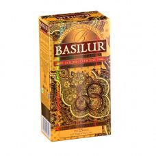 Чай Basilur картон пакет В.коллекция Золотой месяц 25 пак