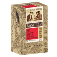 Чай Basilur картон пакет  Природная Коллекция Гаряча хвиля  20пак