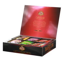 Чай Basilur картон пакет Избр. классика  Под. коллекция  60 пак (саше)