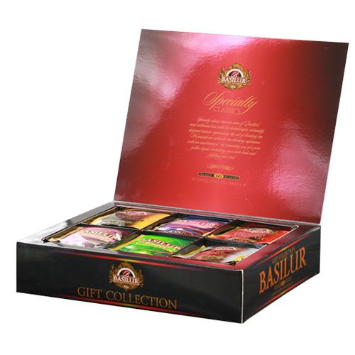 Чай Basilur картон пакет Избр. классика  Под. коллекция  60 пак