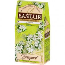 Чай Basilur картон 100г  Букет  Жасмин
