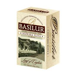 Чай Basilur картон пакет Лист Цейлона Нувара Элия  25пак (саше)