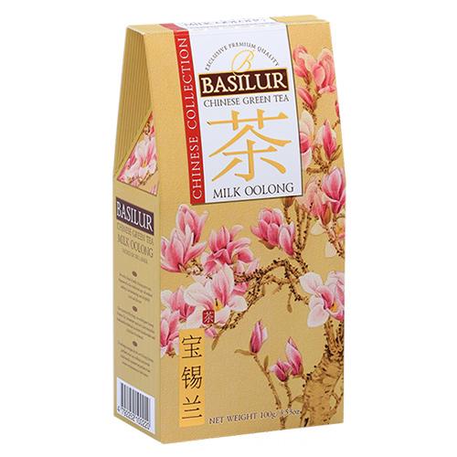 Чай Basilur картон 100г  Китайская Молочный улун