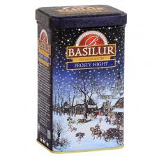 Чай Basilur 85г Подарочная  Морозная ночь  ж/б
