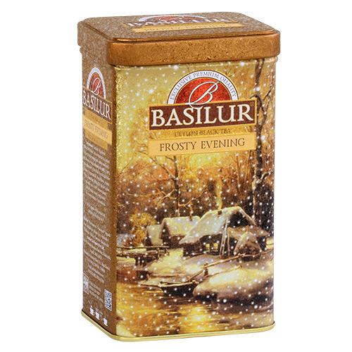 Чай Basilur 85г Подарочная Морозный вечер  ж/б