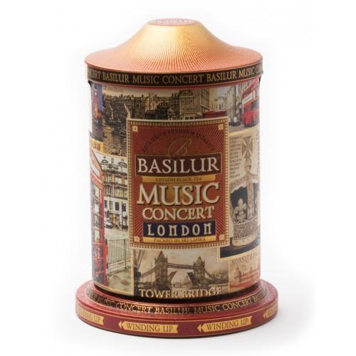 Чай Basilur 100г Музыкальная шкатулка Лондон  ж/б