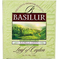 Чай Basilur картон пакет Лист Цейлона  Раделла  100пак. (без сошет)