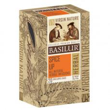 Чай Basilur картон пакет  Природная Коллекция Додай спецій  20пак