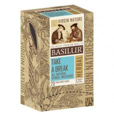Чай Basilur картон пакет  Природная Коллекция Бадьорість  20пак