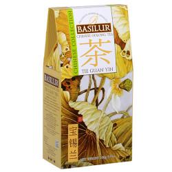 Чай Basilur картон 100г  Китайская Те Гуань Инь