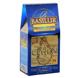 Чай Basilur картон 100г  Остров  Высокогорный