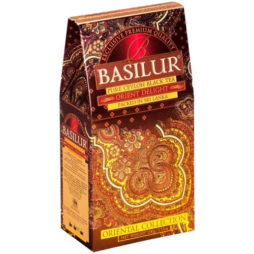Чай Basilur картон 100г Вост. коллекция Вост. очарование