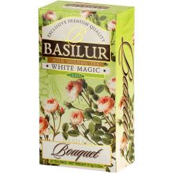 Чай Basilur картон пакет Букет  Белое волшебство  25 пак