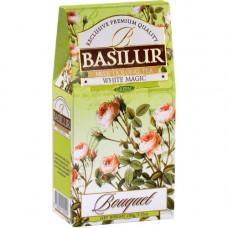 Чай Basilur картон 100г  Букет  Белое волшебство