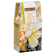Чай Basilur картон 100г  Китайская Белый чай