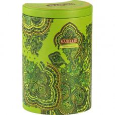 Чай Basilur 100г Вост. коллекция Зеленая долина  ж/б