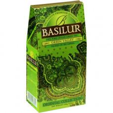 Чай Basilur картон 100г Вост. коллекция Зеленая долина