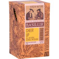 Чай Basilur картон пакет  Природная Коллекция Відпочинок  20пак