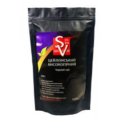 Чай чорний  Цейлонський среднелистовой высокогорный  250г
