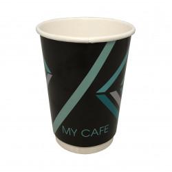 Стакан     Двухслойный  270мл   (My Cafe) 19шт рукав