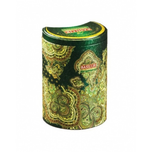 Чай Basilur 100г Вост. коллекция Марок. мята ж/б