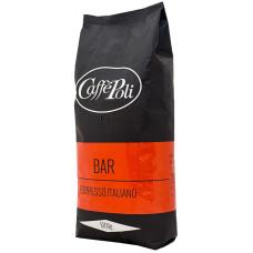 Кофе в зернах Poli Bar Rosso 1кг