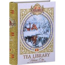 Чай Basilur 100г  Чайная Библиотека Том 1 ж\б