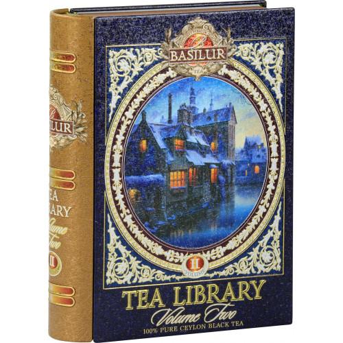 Чай Basilur 100г  Чайная Библиотека Том 2 ж\б
